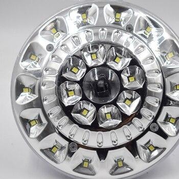 22 LED الشمسية مصباح المحمولة مستديرة التحكم عن بعد المصابيح الشمسية التخييم خيمة مصباح الصيد USB قابلة للشحن أضواء الطوارئ