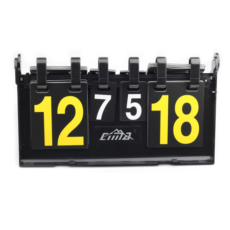 CIMA basketball Score board 4 digit football scoreboard Soccer volleyball handball tennis High quality Sports scoreboards