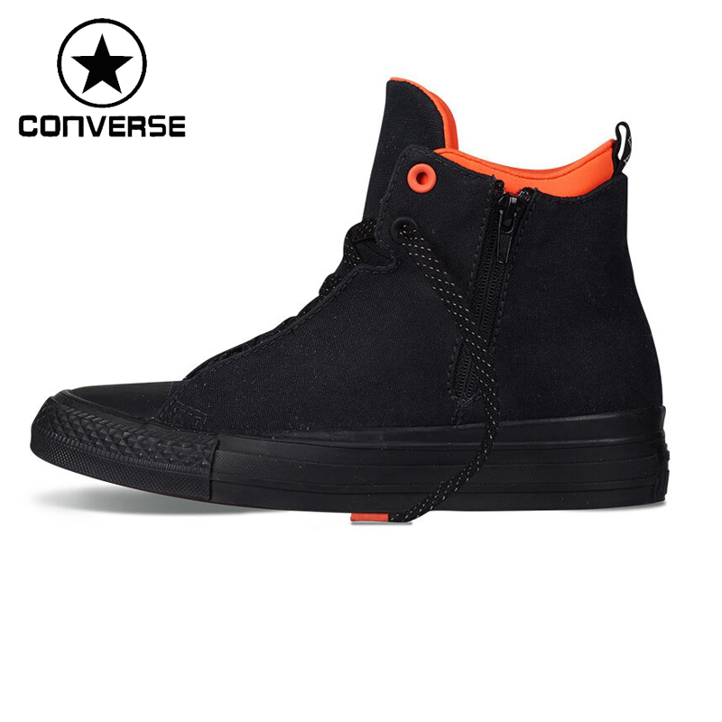 Original New Arrival Converse Selene Shield Canvas Unisex High top Skateboarding Shoes Canvas Sneakers original converse selene monochrome leather women s skateboarding shoes sneakers