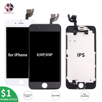 Top OEM LCD Screen For Apple iPhone 6 Plus 6S 6SPLUS Display Touch Screen 4.7/5.5'' LCDs Assembly Digitizer Replacement Pantalla