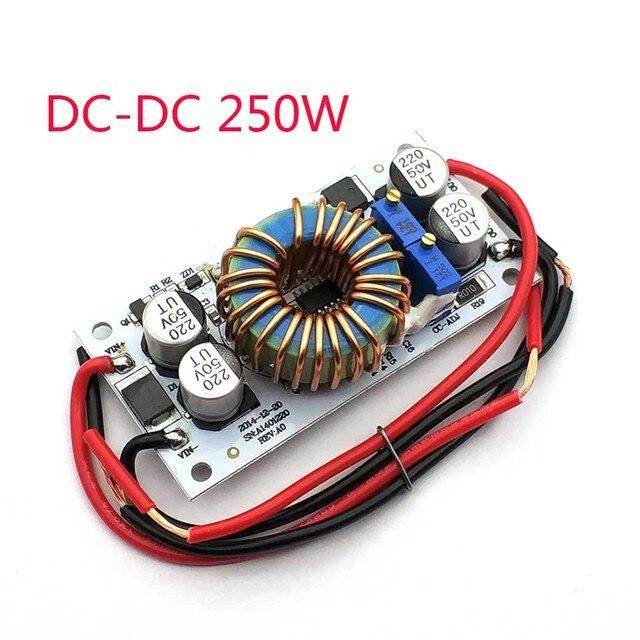 DC DC دفعة محول تيار مستمر إمدادات الطاقة المتنقلة 10A 250W LED سائق