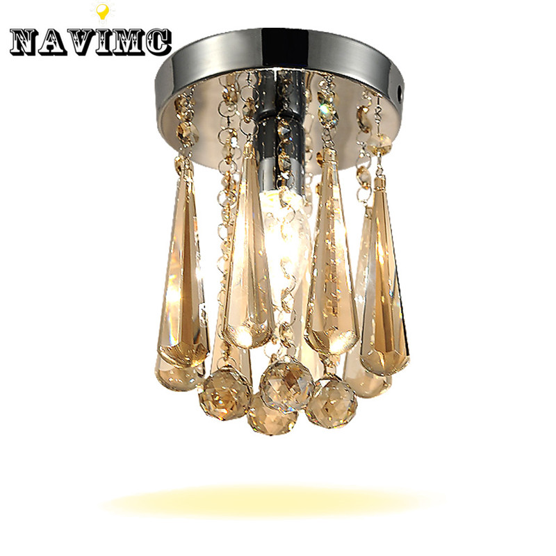 Luxury Crystal Chandelier Lighting Transparent or Champagne Lustre Fixtures For Bedroom Restaurant Corridor Lamp  Free Shipping new headlight headlamp left right for hyundai sonata 8 head led light bar drl 2011 2015 h7 bi xenon