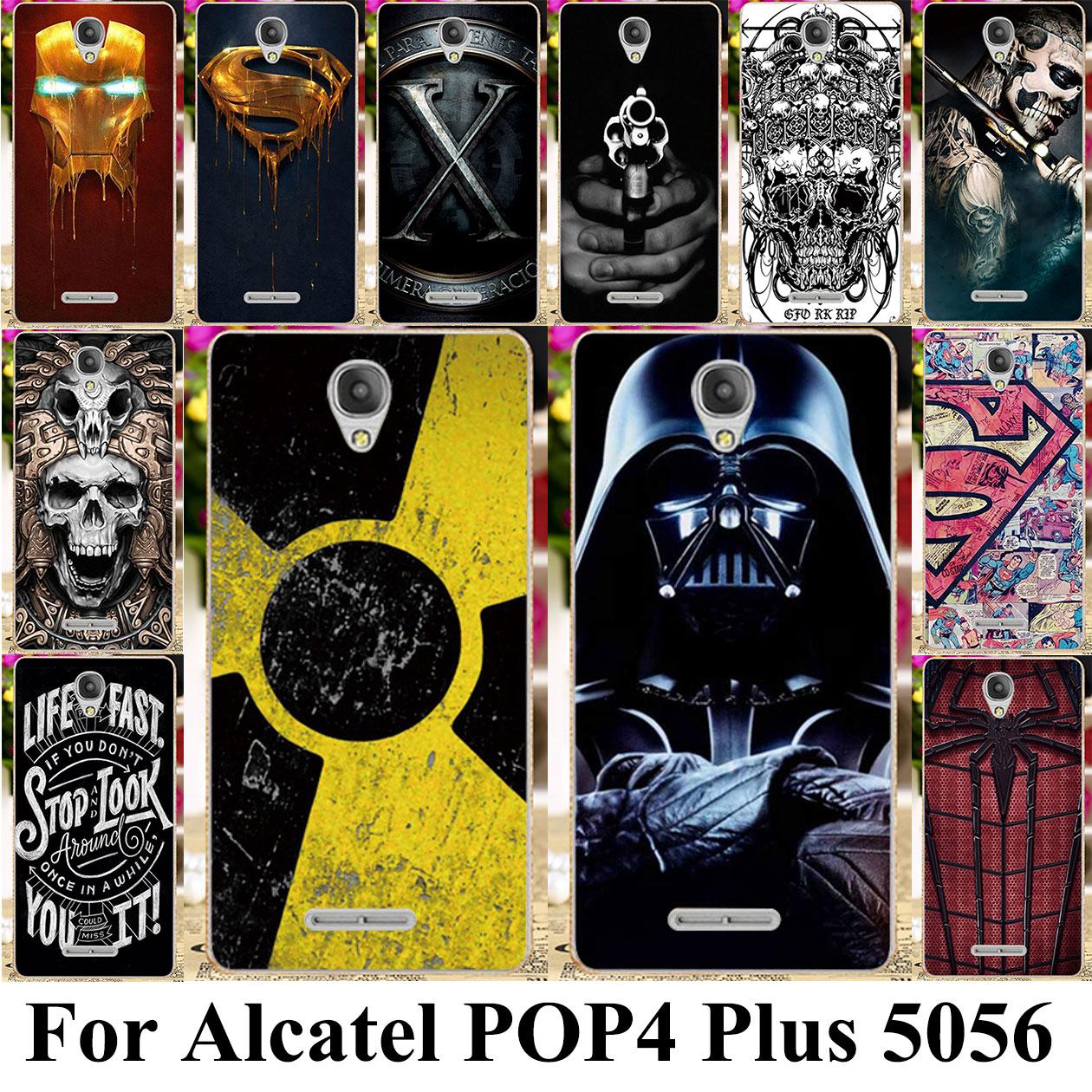 Cellphones & Telecommunications Phone Bags & Cases Ot-5056 Low Price 2019 Fashion Diy Photo Customize Phone Case Cover For Alcatel Pop 3 5.0 5015 5015d 5065 5015x Pop 4 Plus 5.5 5056 5056d Pop 4