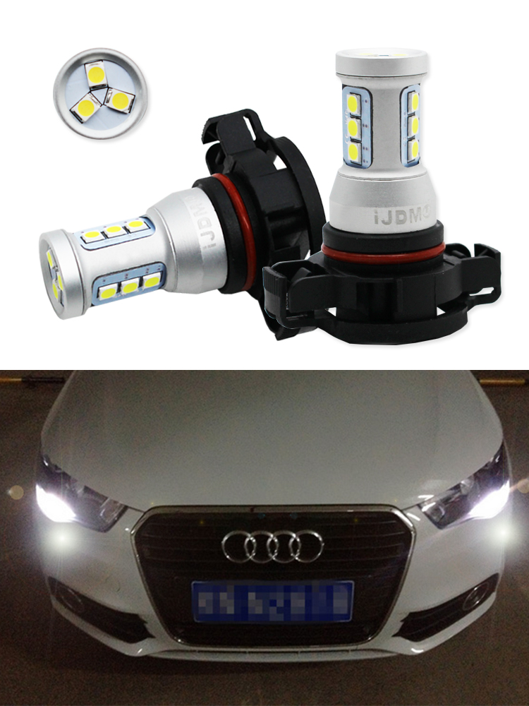 Audi A3 8P 55w ICE Blue Xenon HID Low Dip//Canbus LED Side Light Headlamp Bulbs