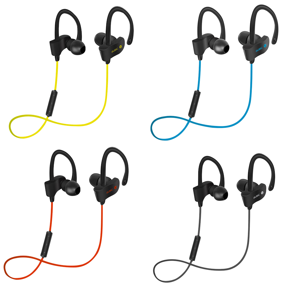 Sports Wireless Blutooth Earphone Auriculares Bluetooth Ear Hook Earpiece Headphone HIFI Stereo Handsfree Call Running Headset leegoal bluetooth headset stereo hand free mini auriculares earphone ear bud wireless headphone earbud handsfree for smartphone