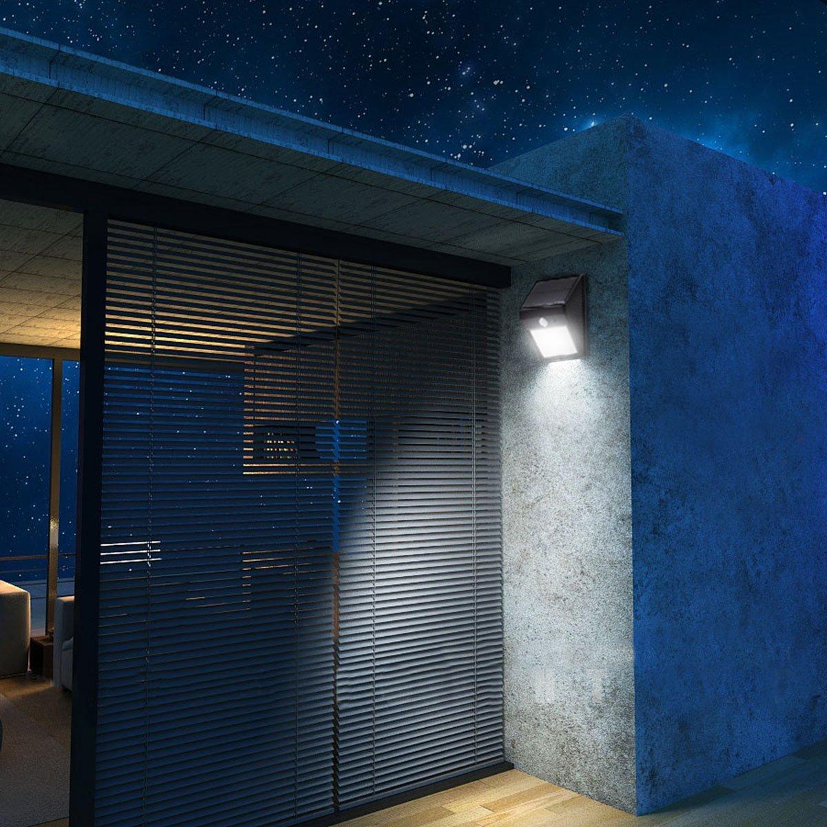 Lâmpadas Solares dcoo solar 20 leds sensor Features : Waterproof