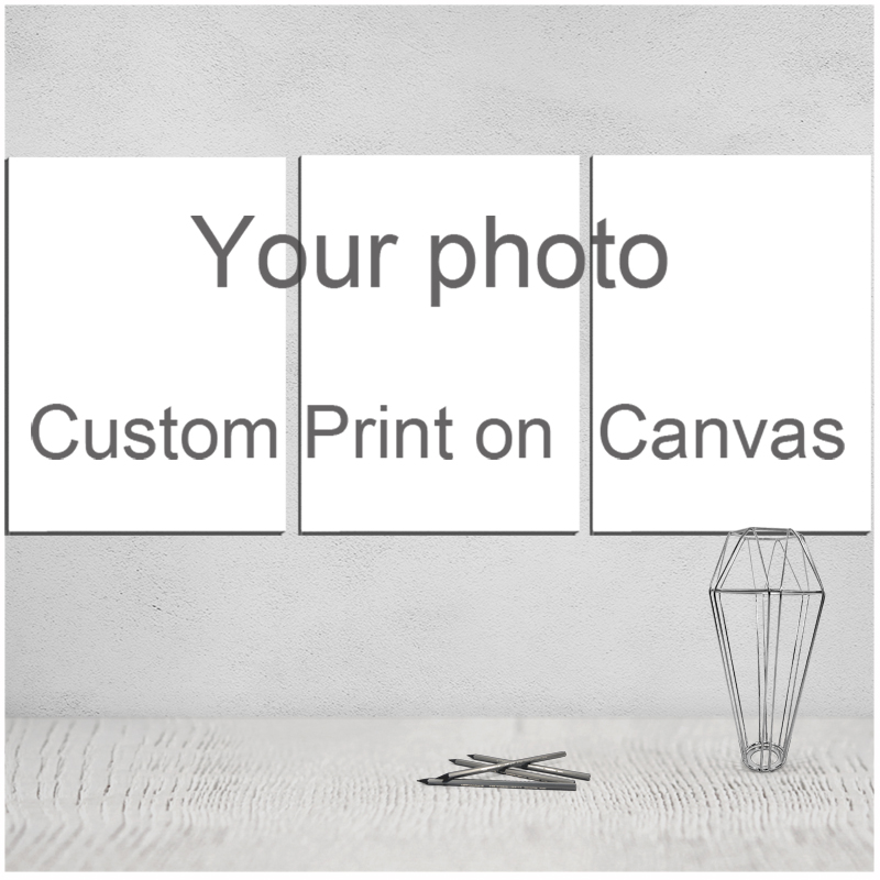custom family print Christmas Canvas Poster Painting Movie & Calligraphy Art Print Picture Giclee