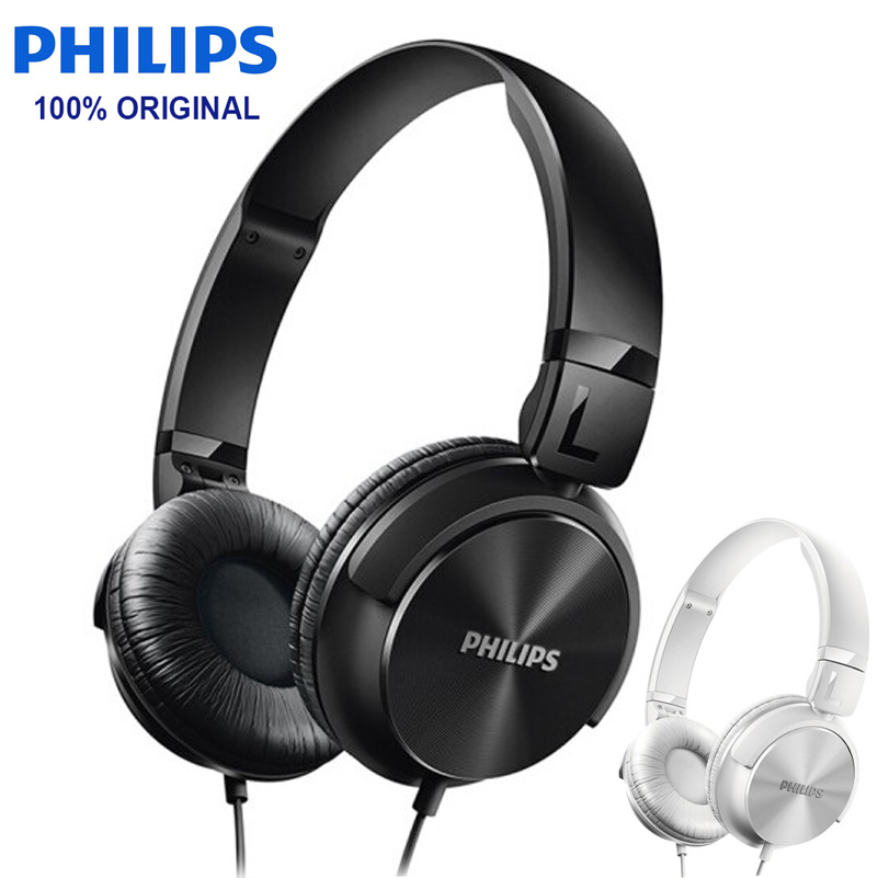 Philips SHL3060 Wired Headphone Support Musi Movie with Stereo Bass Adjustable Headband for Xiaomi Huawei Galaxy