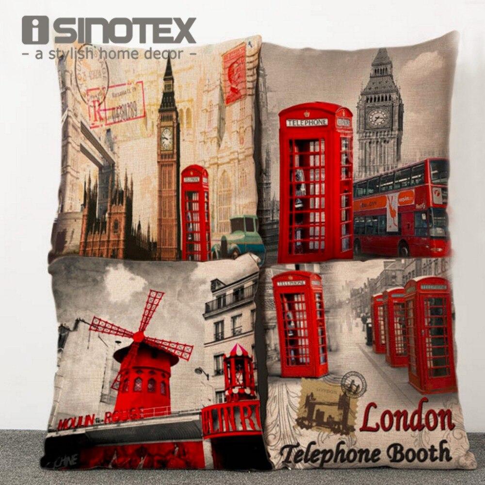 iSINOTEX Cushion Cover Pillow Case Printed Sofa Chair Creative Home Decor 43*43cm/16.9*16.9 1PCS/Lot