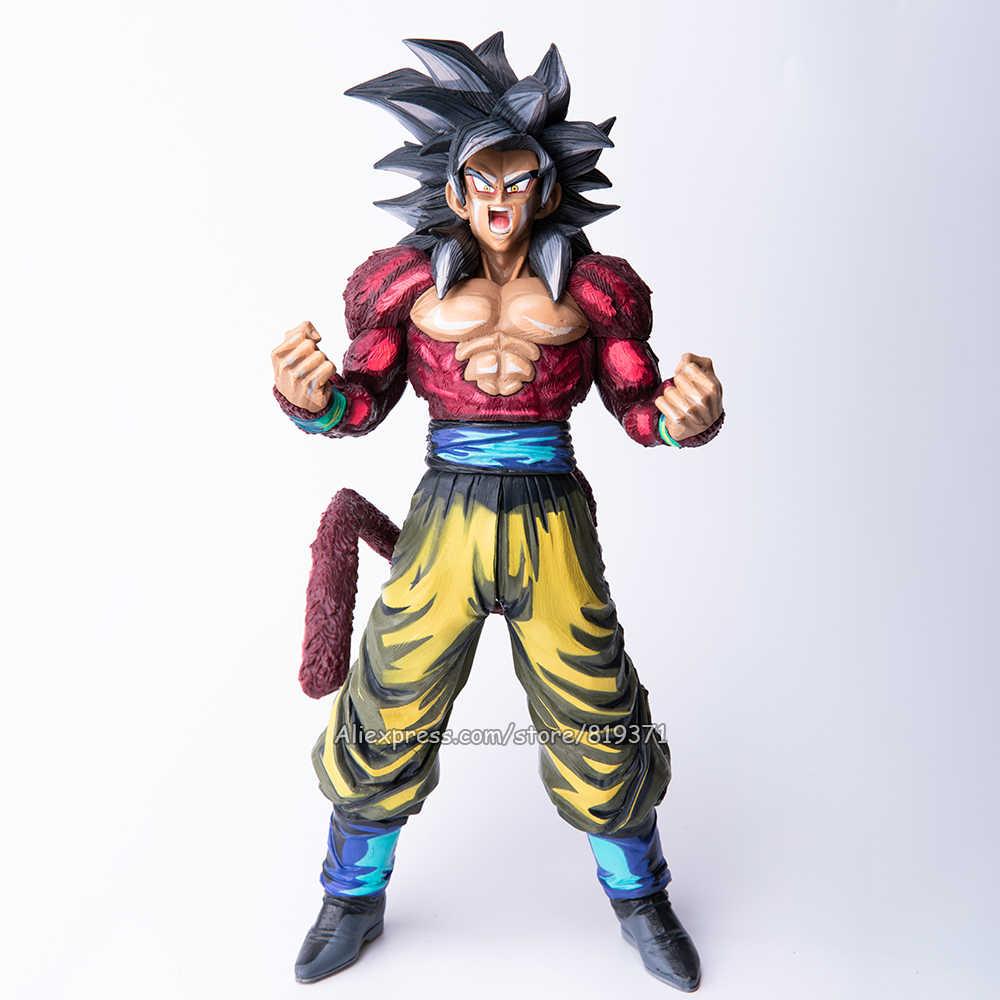 34 cm 4 Japão Anime Figura Coleção de Dragon Ball GT Super Saiyan Goku Action Figure Estatueta Brinquedos Boneca DragonBall modelo