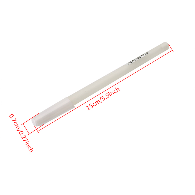 Marker pen White Hook Liner Pens Black Paper Highlighter Reviser 0 8mm New in Marker Pens from Office School Supplies
