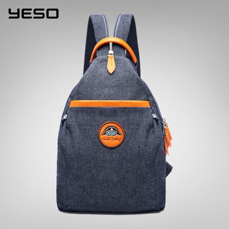 YESO Fashion Backpack Women 2019 New Korean Leisure School Bags School Backpack Travel Bag Multifunction Anti
