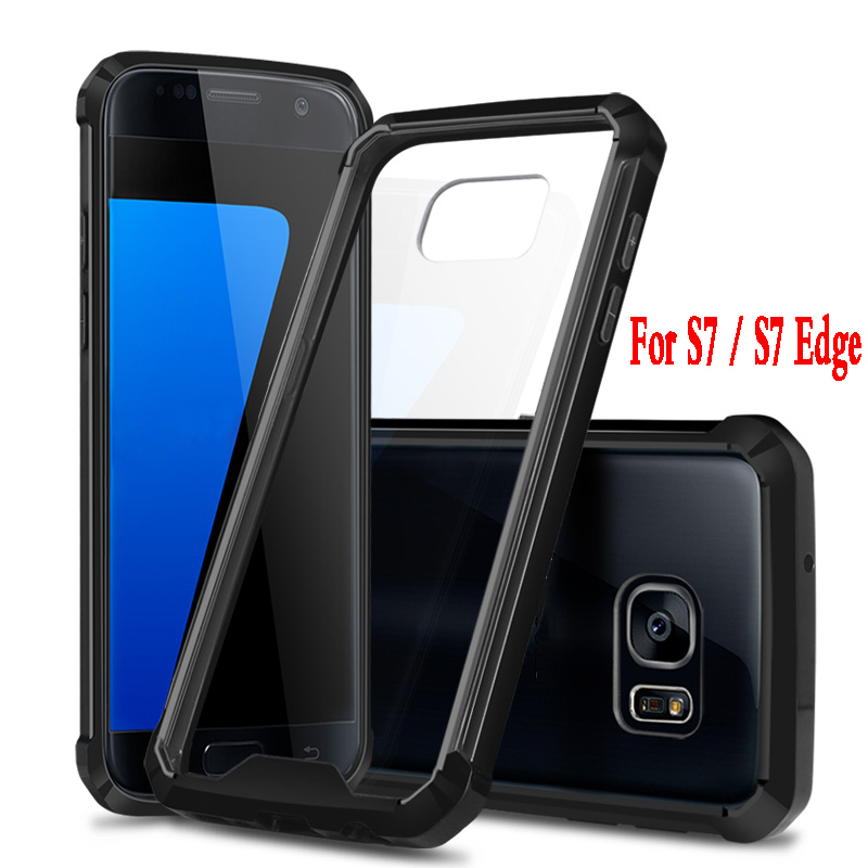 soft TPU case For Samsung galaxy S7 Edge hard plastic