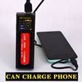 Oztough mini10 NiMH Liepo4 USB Battery Charger for 10440/17670/18490/16340 (RCR123)/14500/18350/18650 Rechargeable Battery
