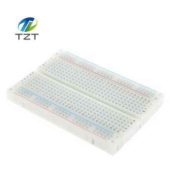 Free Shipping! 20PCS Quality mini bread board / breadboard 8.5CM x 5.5CM 400 holes Bread plate - SALE ITEM Electronic Components & Supplies