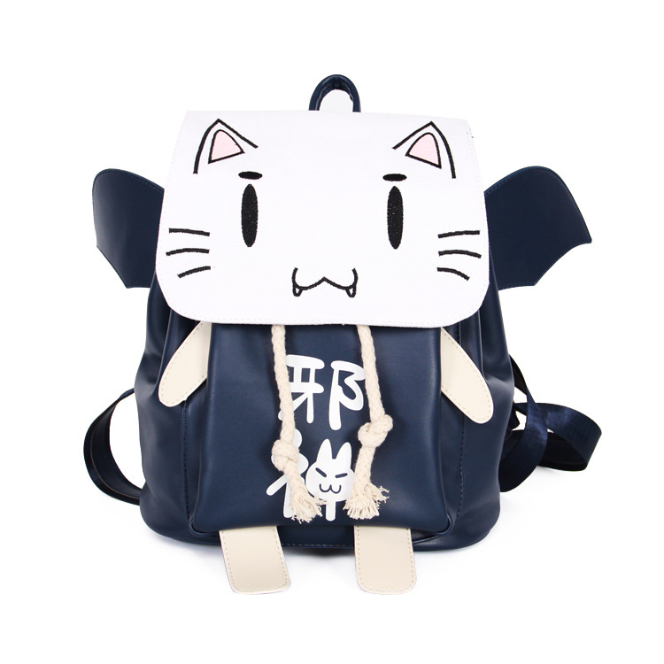Anime Backpack Cosplay evil Korean Cute Student Bag Child Birthday Gift korean version canvas shoulder bag backpack student bag ladies cartoon cute new child birthday gift