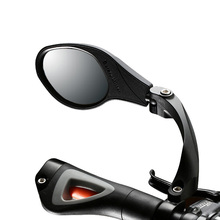 купить Bicycle Mirror MTB Road Bike Safety Rear View Mirror With Reflective Strip Stainless Steel Lens Bike Handlebar Rearview Mirrors по цене 975.67 рублей