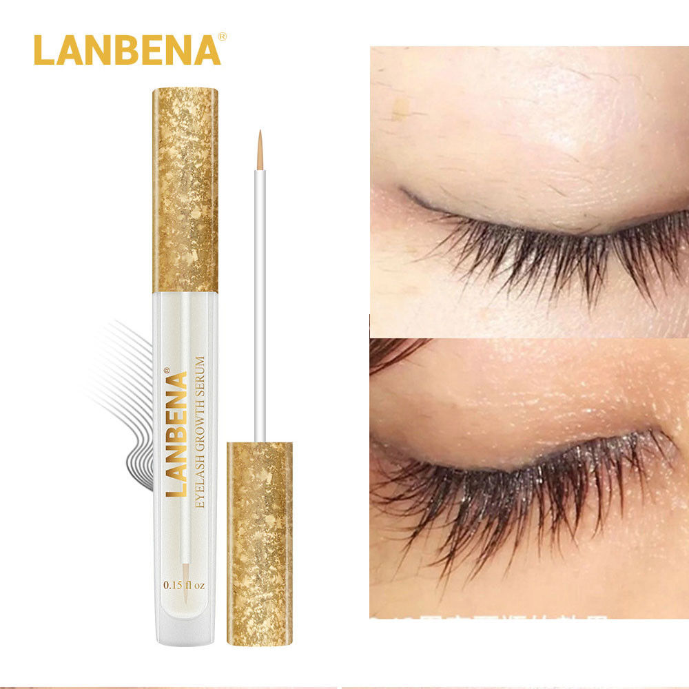 LANBENA Eyelash Growth Eye Serum 7Day Eyelash Enhancer Longer Fuller Thicker Lashes Eyelashes And Eyebrows Eye Care TSLM1