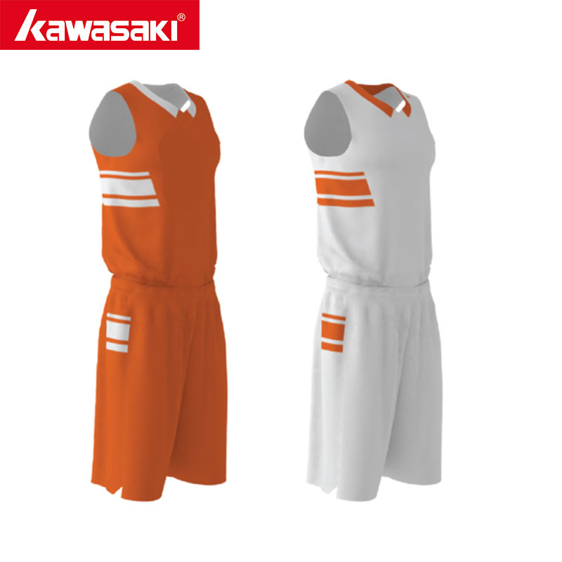 Kawasaki Custom Basketball Suits Uniforms Reversible Basketball Sets  Breathable Sport Team Wear Mens Daily Training libo breathable fitness sleeveless basketball suits for male