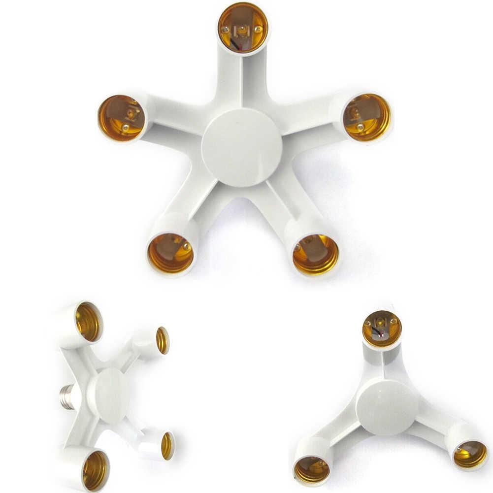 Для детей от 1 до 4 освещение держатели-преобразователи для ламп разъем E27 для E27 основание розетки Разделение ter студия светодиодный фонарь, адаптер огни Разделение держатель основания