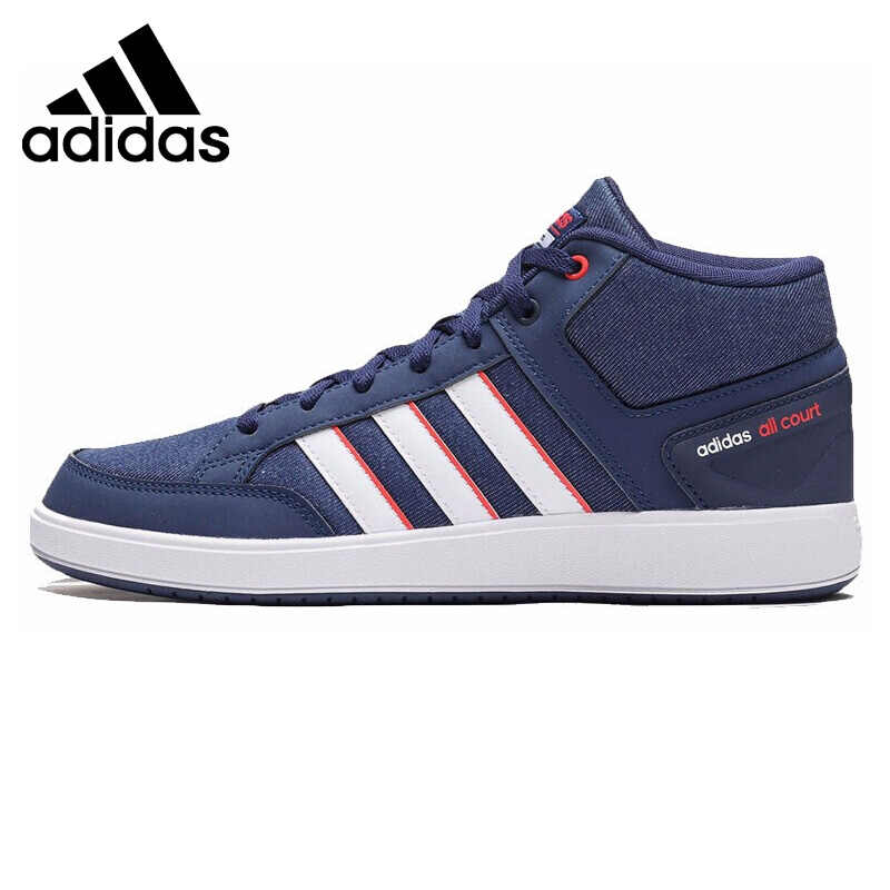 Original New Arrival Adidas ALL COURT MID Men's Tennis Shoes Sneakers