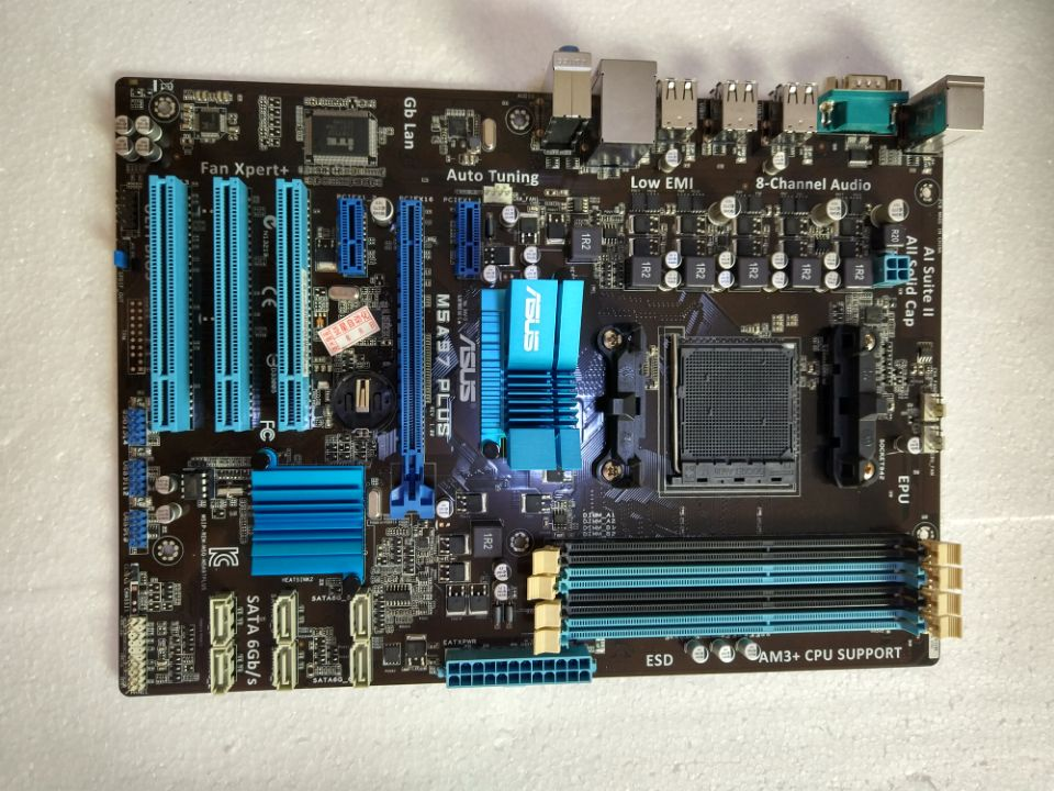 Asus M5A97 PLUS 970 Large Independent Board AM3/AM3+ 80%-90%new asus m5a97 plus