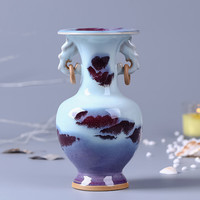 Small Fresh Ceramic Vase Jingdezhen Chinese Antique Home Living Room Bogu Wine Cabinet Decoration Porcelain Ornaments 2