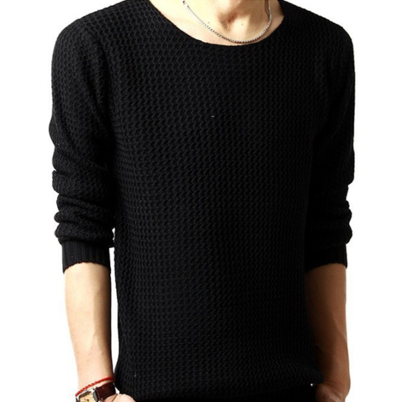 Sweater Pullover Men 2018 Male Brand Casual Slim Sweaters Men High Quality Hedging O-Neck Men'S Sweater Oversize 4XL