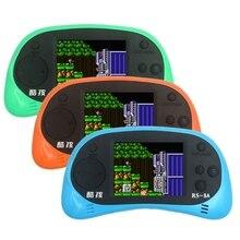 2.5 polegada Tft Jogador Handheld Do Jogo 8 bit Video Game Console Suporte Embutido 260 Jogos Clássicos com Cabo AV saída de TV