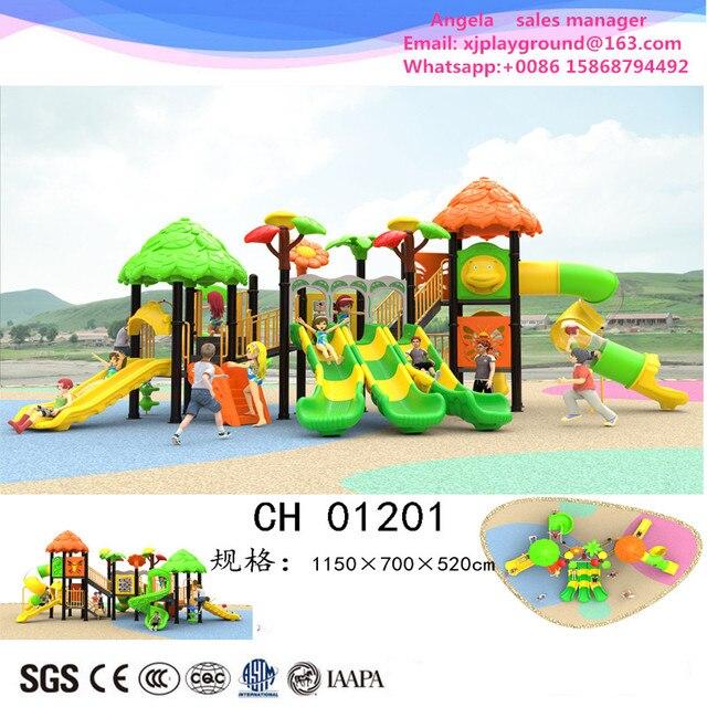 € 6127.48  Equipo de juegos al aire libre de niños más vendido de 2017 para  jardín de infantes en Patio de recreo de Deportes y entretenimiento ...