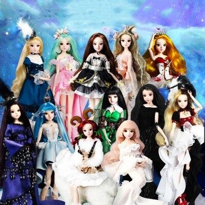 Очень красивые 1/6 30 см Хорошее качество модные куклы Подарочные игрушка принцесса bjd куклы Блит кукла для новорожденных девочек на день рожд...