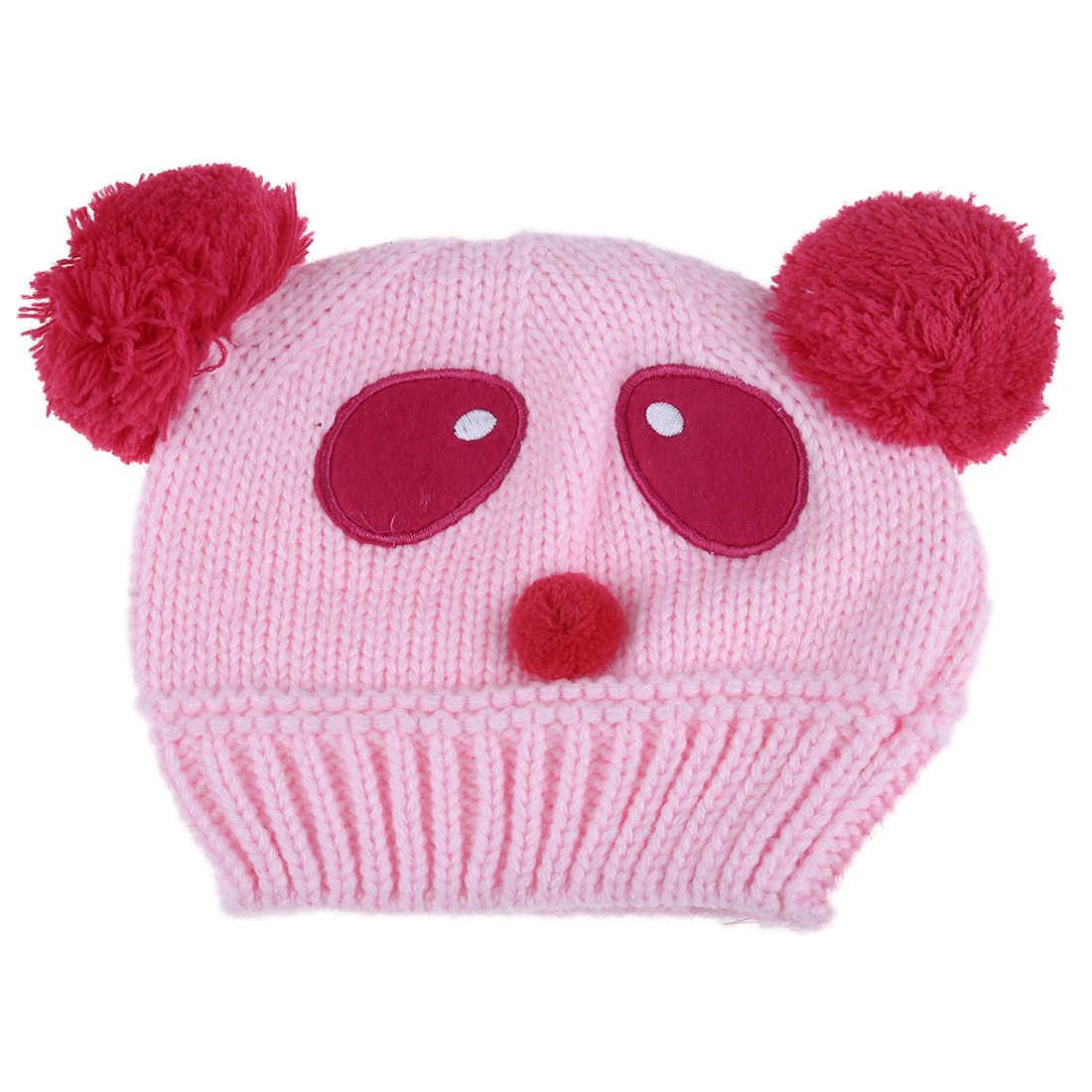 ABWE ที่ดีที่สุดขายเด็กทารกเด็กถักหมวกฤดูหนาว Warm หมวกสีเบจ