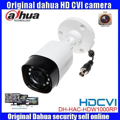 HD720p Dahua HDCVI Camera 1MP DHI-HAC-HFW1000RP HDCVI IR Bullet Security Camera CCTV IR distance 20m HAC-HDW1000RP dahua hdcvi 1080p bullet camera 1 2 72mp 1080p ir 80m ip67 hac hfw1200d security camera dhi hac hfw1200 bullet cvi camera