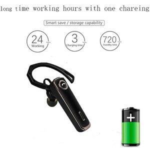 Image 2 - Auricolare Bluetooth senza fili Stereo Auricolari Auricolare bluetooth V5.0 24 Ore Woring Tempo Della Cuffia Con Il Mic Per xiaomi iphone