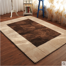 30*30CM living room bedroom children kids soft patchwork carpet magic Jigsaw Splice puzzle climbing baby mat