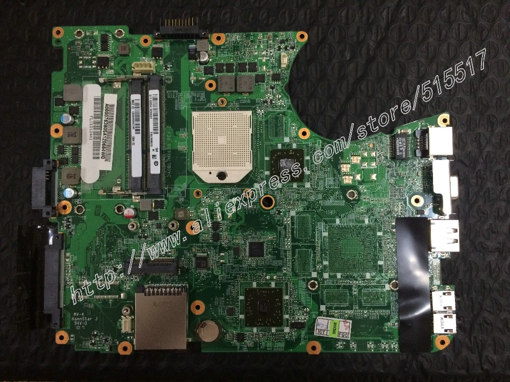A0000763805A For Toshiba Satellite L655D Motherboard DA0BL7MB6D0 REV:D Mainboard 31BL7MB0010