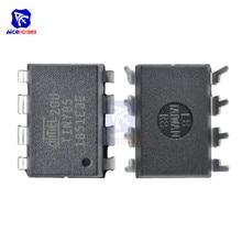 diymore IC Chip ATTINY85 20PU ATTINY85 MCU 8BIT ATTINY 20MHZ 8 Pin DIP 8 ATTINY85 Microcontroller IC Chips