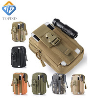1PC Universal Fishing Bag Outdoor Tactical Holster Military Hip Waist Belt TOPIND Bag Wallet Case With