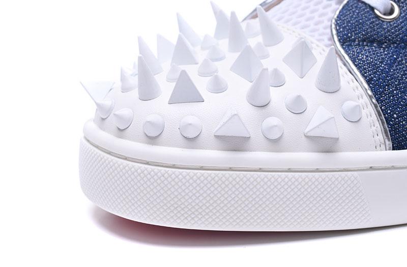 Hommes Cristal En High Pic as Lacent Cuir Couleur Pointes Casual Cloutés Cut Mélangée Sneakers Chaussures Bling As Rivets Skate Cour Pic wIdqxRd