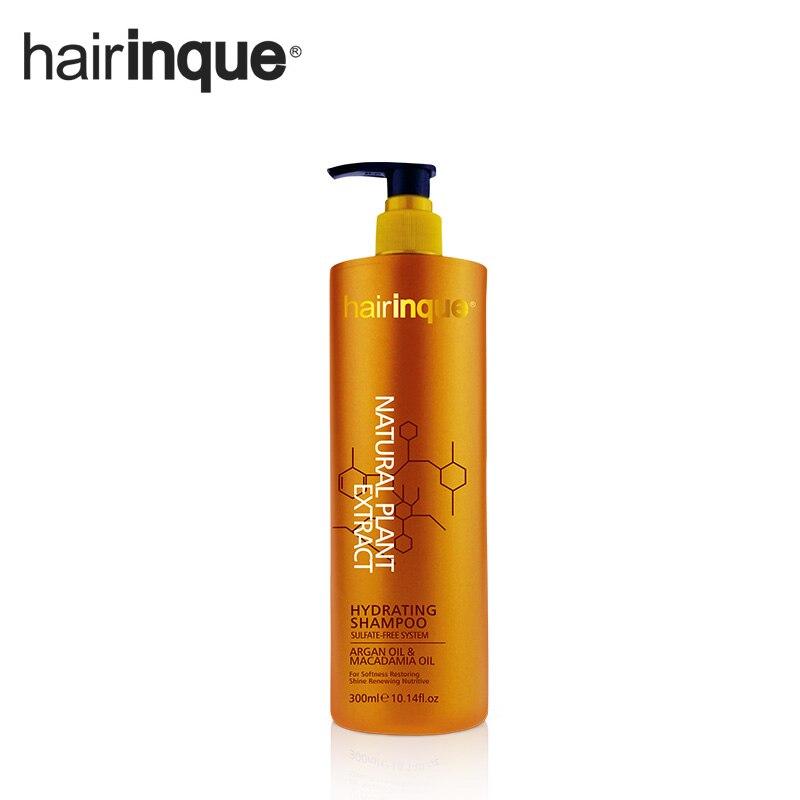 HAIRINQUE olio di Argan olio di noce di Macadamia nad Solfato di shampoo per capelli 300 ml di trasporto rendere i capelli idratante nutriente e moisterning
