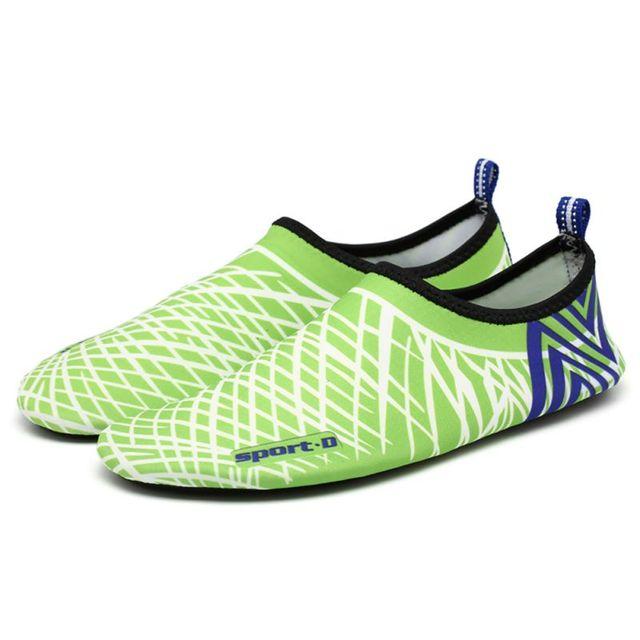 Nueva llegada unisex calcetines Descalzo los zapatos playa nadar Surf rojo Talla:38 PJWxYm