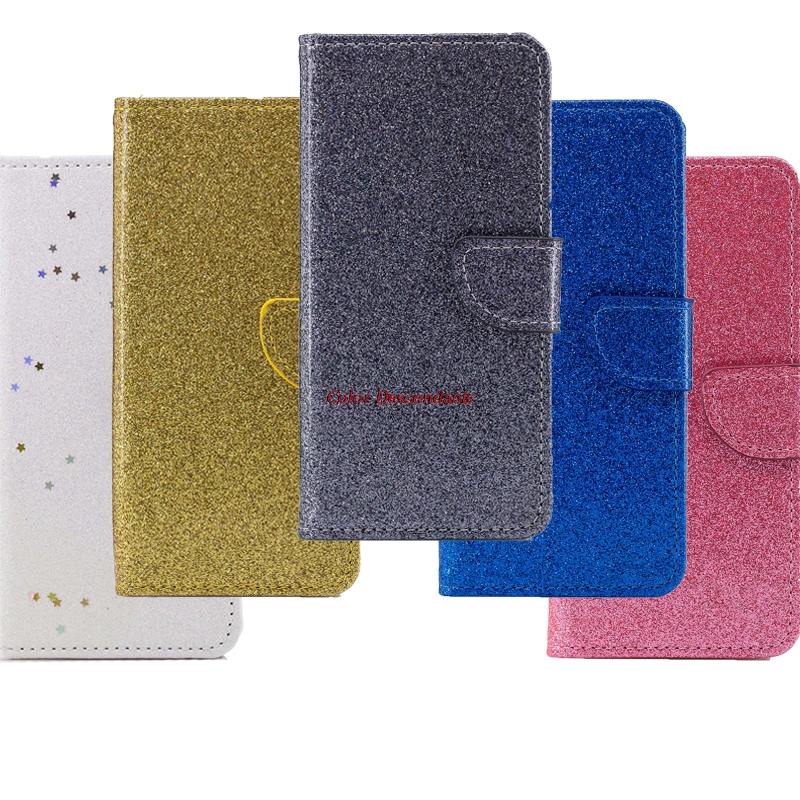 Luxury Glitter Cases For Samaung Galaxy S9 Wallet Bags For Coque Samaung S9 Phone housings Flip Covers leather For galaxy S9 S 9