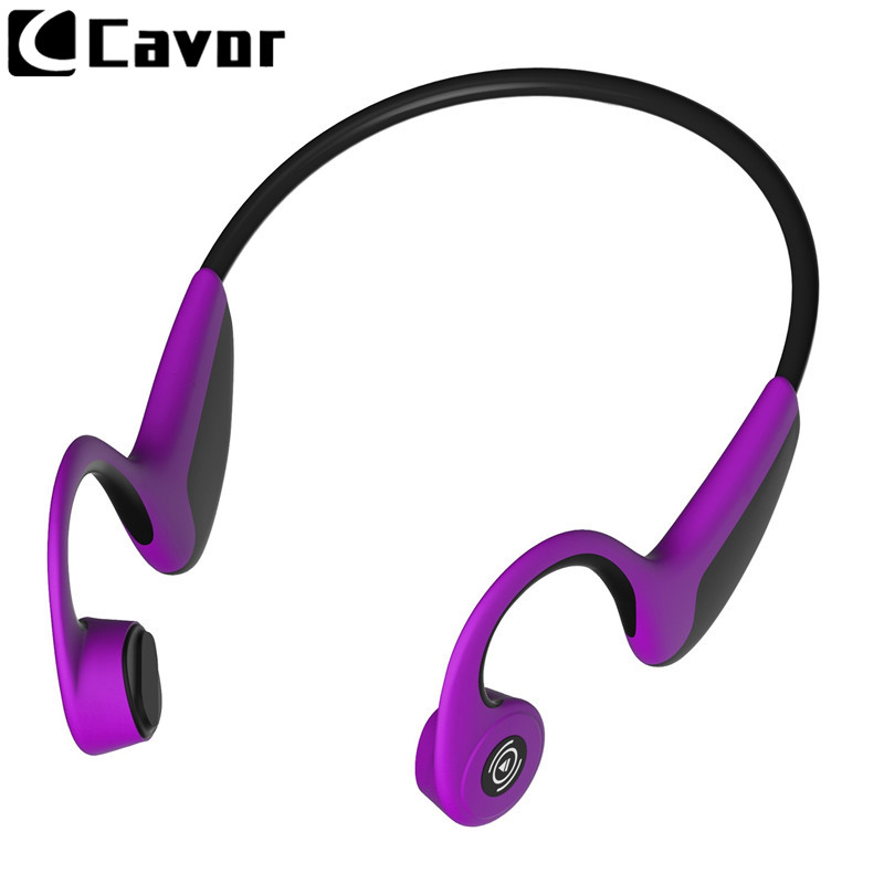 Conduction osseuse Bluetooth 5.0 sacoche pour ordinateur pour Pour Huawei P20 Lite P30 Pro P9 P10 Cas Écouteurs Sans Fil Mains Libres Sport