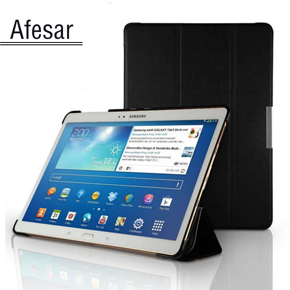 Tablette sm T800 T805C Ultra mince Etui Smart Cover pour Samsung Galaxy Tab S 10.5 Etui support de livre Auto Sleep-Awake up
