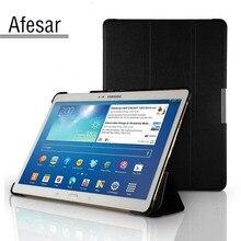 Sm t800 t805c tablet ultra slim smart cover case para samsung galaxy tab s 10.5 libro soporte de la cubierta case auto sueño-vigilia hasta