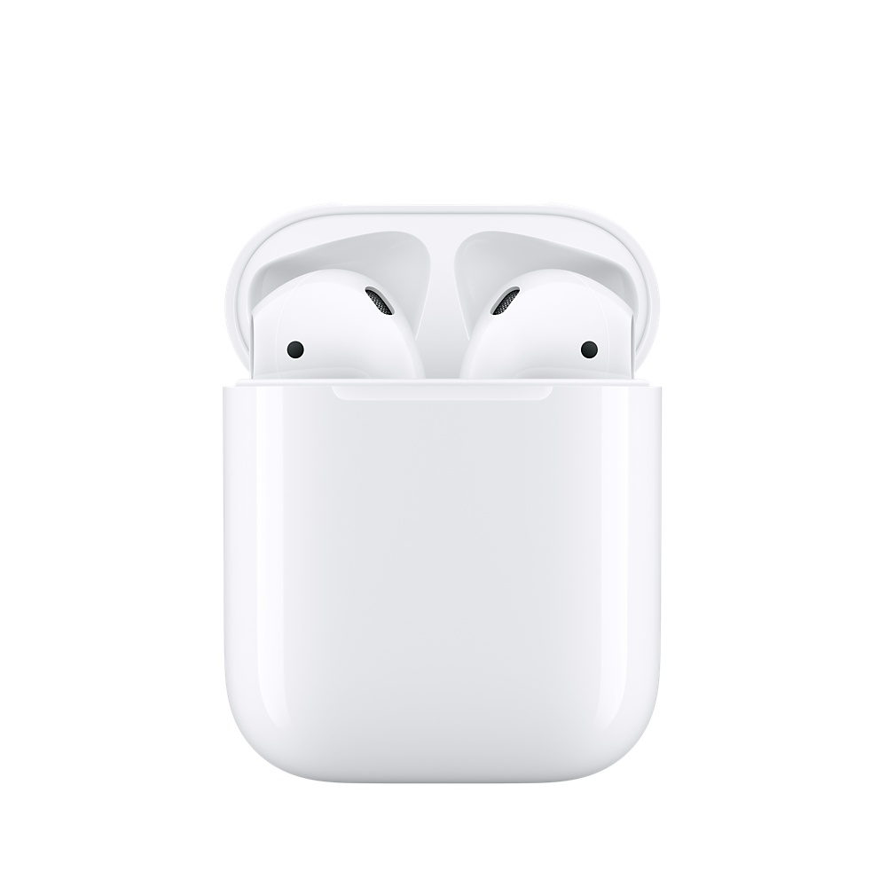 Véritable Apple AirPods Sans Fil Écouteurs D'origine Bluetooth Casque pour iPhone Xs Max XR 7 8 Plus iPad MacBook Apple Montre - 2