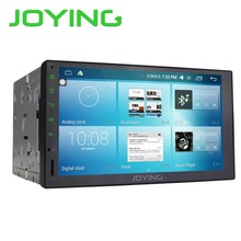 "Joying 7 "" Android 6.0 Universal Car Radio Audio Stereo Head Unit GPS Navigation 1024*600 Tape Recorder Support DVR Rear Camera"