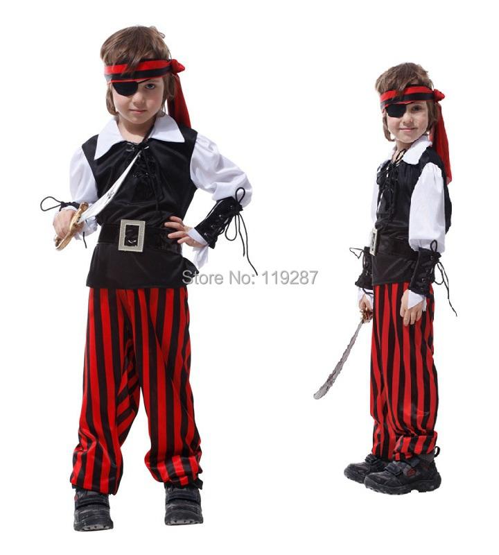 los nios de disfraces de piratas de ojos cosplay piratas del caribe crneo nios sombrero de pirata ropa de nio pequeo traje