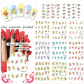2015 NEW 50PCS/lot  Nail Decals Water Transfer Fingernail Decals Nail Stickers Flowers / Butterfly Water Transfer