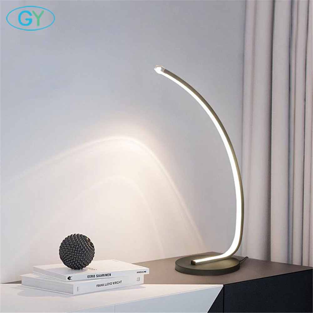 Art design led book light with plug, 16W led lamp for reading, bedside table reading lamp ,luminaria de mesa,libros de lectura